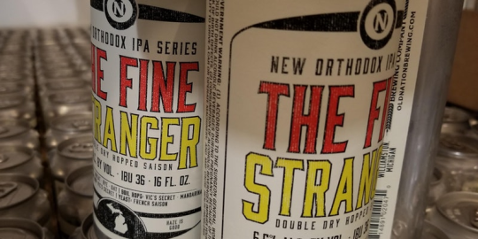 The Fine Stranger Cans. Old Nation Brewing Company.